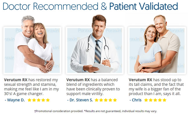 What people are saying in their VerutumRx testimonials