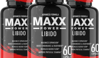 Bottles of Max Power Libido