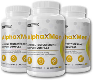 bottles of Alpha X Men