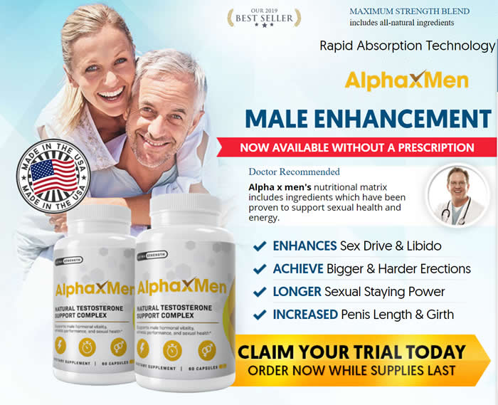 Alpha X Men review and benefits
